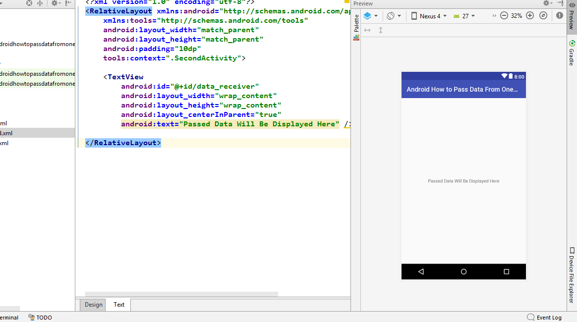 Android Studio Preview Window Disappeared