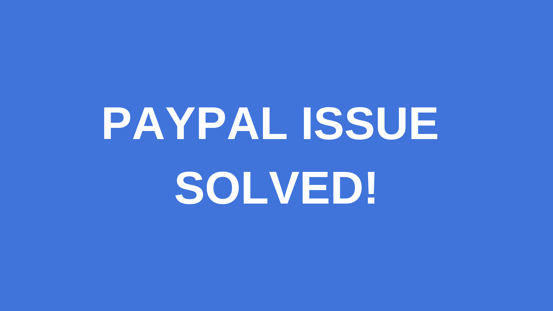 Paypal, Sorry, we weren't able to set up preapproved payments at this time