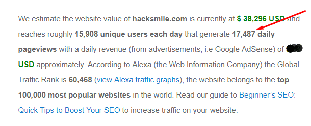 hacksmile-site-worth