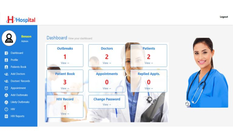 Free Hospital Management System for University Project